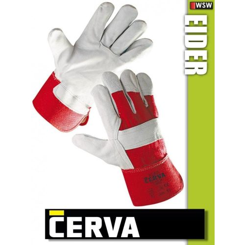 Cerva EIDER kombinált bőrkesztyű - munkakesztyű