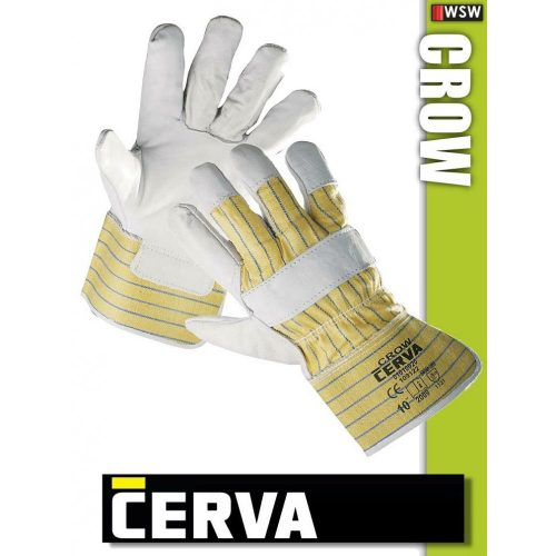 Cerva Crow kombinált bőrkesztyű