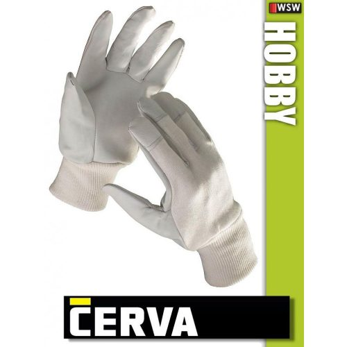 Cerva Hobby kombinált bőrkesztyű