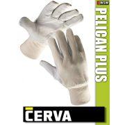 Cerva Pelican Plus kombinált bőrkesztyű