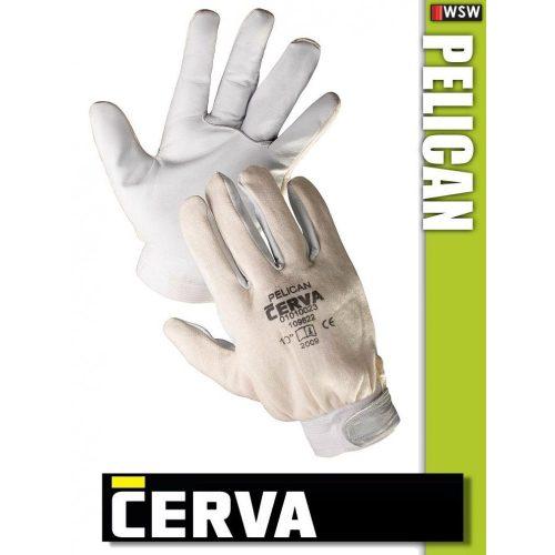 Cerva Pelican kombinált bőrkesztyű