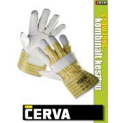 Cerva CROW LONG kombinált bőrkesztyű - munkakesztyű