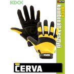 Cerva Kixx BRICK kombinált bőrkesztyű - munkakesztyű