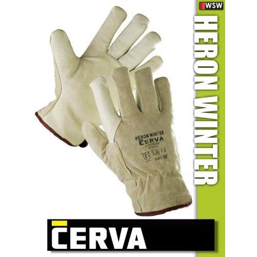 Cerva Heron Winter kombinált bélelt bőrkesztyű