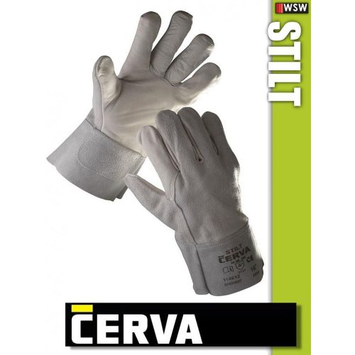 Cerva Stilt kombinált bőrkesztyű