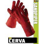Cerva Sandpiper Red kombinált hegesztőkesztyű