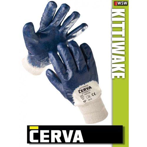 Cerva Kittiwake kötött NITRIL-mártott munkakesztyű