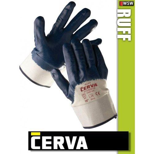 Cerva Ruff kötött NITRIL-mártott munkakesztyű