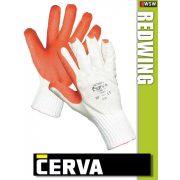 Cerva Redwing kötött LATEX-mártott munkakesztyű