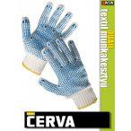 Cerva QUAIL textil kötött munkakesztyű