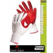 Fridrich HS-04-007 textil PU-mártott vágásbiztos munkakesztyű