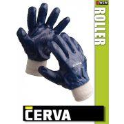Cerva Roller kötött NITRIL-mártott munkakesztyű