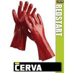 Cerva Restart varrott PVC-mártott munkakesztyű 35 cm
