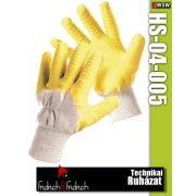 Fridrich HS-04-005 kötött PVC-mártott munkakesztyű