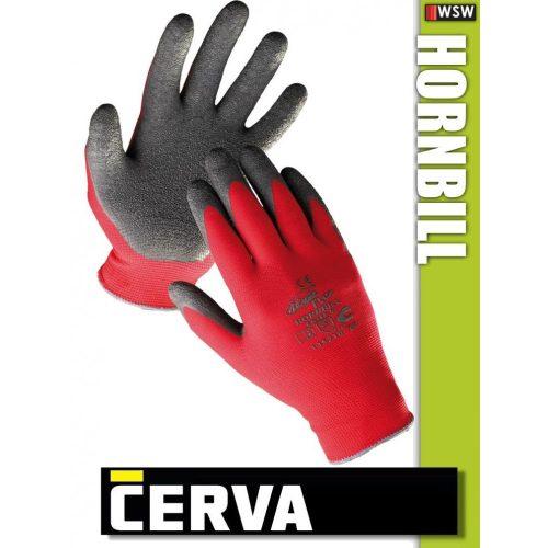 Cerva Hornbill kötött LATEX-mártott munkakesztyű