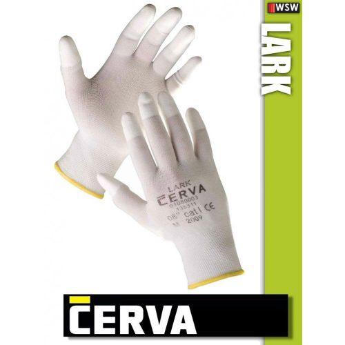 Cerva Lark textil PU-mártott munkakesztyű