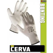 Cerva Bunting textil PU-mártott munkakesztyű