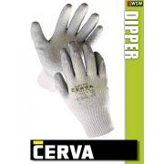 Cerva Dipper kötött LATEX-mártott munkakesztyű