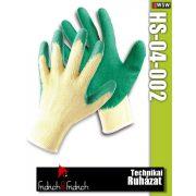 Fridrich HS-04-002 textil PU-mártott munkakesztyű
