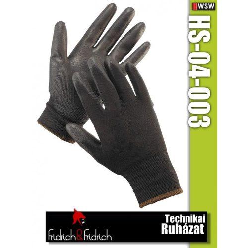 Fridrich HS-04-003 textil PU-mártott munkakesztyű