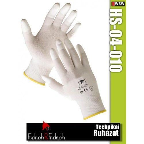 Fridrich HS-04-010 textil PU-mártott munkakesztyű