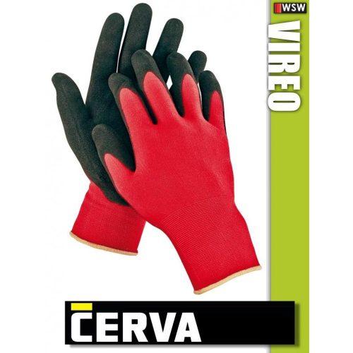 Cerva Firecrest textil nitrilmártott munkakesztyű