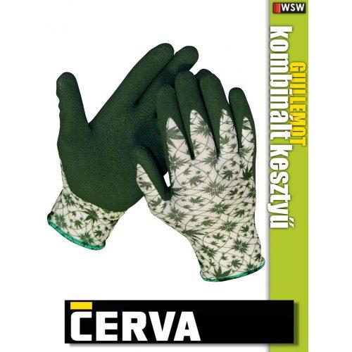 Cerva GUILLEMOT textil kötött latex kesztyű - munkakesztyű