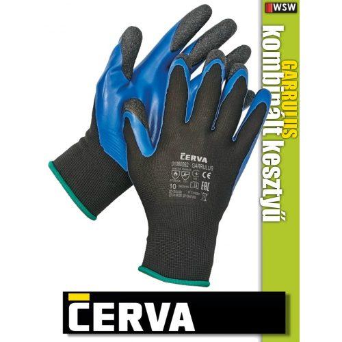 Cerva GARRULUS textil PU-mártott kesztyű - munkakesztyű