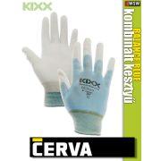 Cerva Kixx BALANCE BLUE textil nitrilmártott kesztyű - munkakesztyű