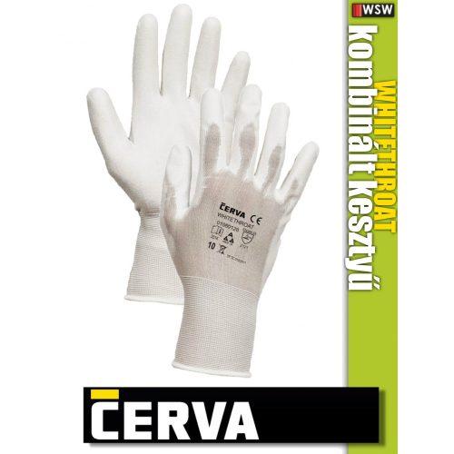 Cerva WHITETHROAT textil nitrilmártott kesztyű - munkakesztyű