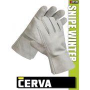 Cerva Snipe Winter kombinált bélelt bőrkesztyű