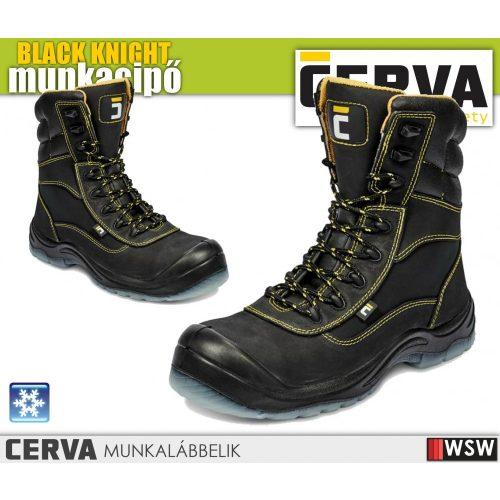 Cerva BLACK KNIGHT S3 CI bélelt munkabakancs - munkavédelmi bakancs