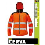 Cerva KNOXFIELD ORANGE HI-VIS softshell kabát - munkaruha