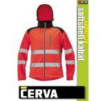 Cerva KNOXFIELD RED HI-VIS softshell kabát - munkaruha