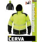 Cerva KNOXFIELD YELLOW HI-VIZ 2in1 kifordítható pulóvert - munkaruha