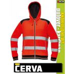 Cerva KNOXFIELD RED láthatósági pulóver kardigán - munkaruha