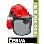Cerva YARROW FORESTRY munkavédelmi sisak és fültok - 26 dB
