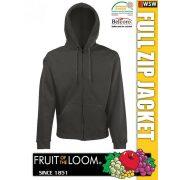 20678f9c30 Fruit of the Loom HOODED JACKET férfi kardigán - pulóver .