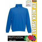 Fruit of the Loom ZIP NECK férfi pulóver