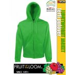 Fruit of the Loom LIGHTWEIGHT JACKET férfi pulóver - munkaruha