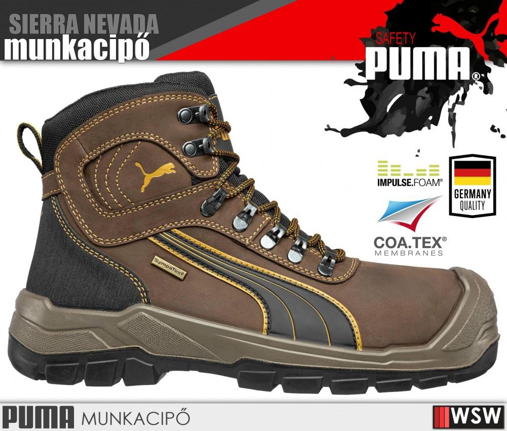 Puma NEVADA S3 munkabakancs - munkavédelmi cipő bce6378f78