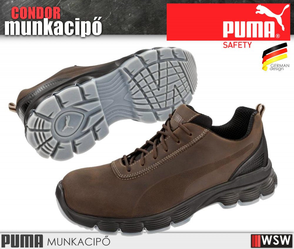 cb8b30e3a982 Puma CONDOR S3 munkacipő - munkavédelmi cipő .
