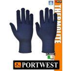 Portwest THERMOLITE textil bélelt védőkesztyű - munkakesztyű