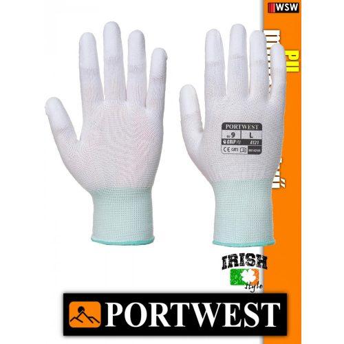 Portwest PU ujjvégmártott védőkesztyű - munkakesztyű