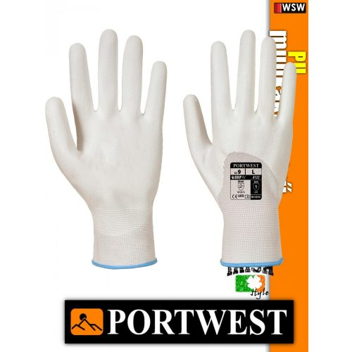 Portwest PU mártott védőkesztyű - munkakesztyű