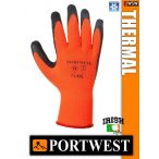 Portwest THERMAL LATEX mártott bélelt védőkesztyű - munkakesztyű