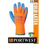 Portwest COLD LATEX GRIP mártott hűtőházi védőkesztyű - munkakesztyű