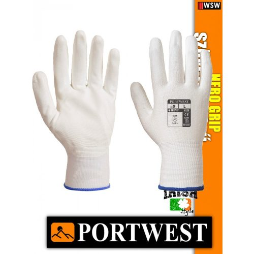 Portwest NERO GRIP mártott védőkesztyű - munkakesztyű