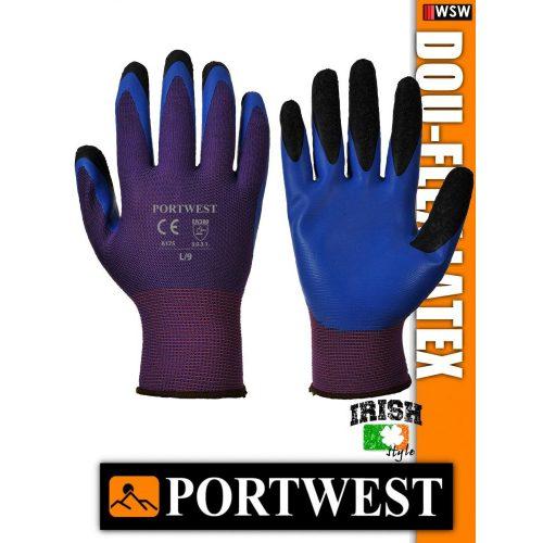 Portwest DOU-FLEX LATEX mártott védőkesztyű - munkakesztyű