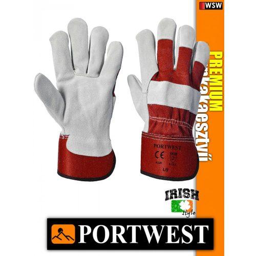 Portwest PREMIUM bőr védőkesztyű - munkakesztyű